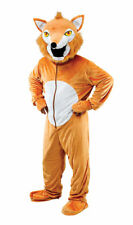 FOX COSTUME BIG HEAD FANCY DRESS NEW