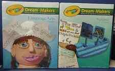 NEW ~ Crayola Dream-Makers Language Arts & Science, K - 6th Grade ~ Free S/H
