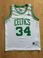 NBA Boston Celtics Basketball Jersey Champion Paul Pierce #34 Size S