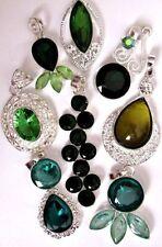 Gemstone Diamond (Imitation) Costume Necklaces & Pendants