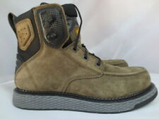 Men's Magnum Charcoal Slip Resistant Wedge Work Boot Size 13 #5584