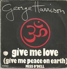 GEORGE HARRISON Give me love FRENCH SINGLE APPLE 1973