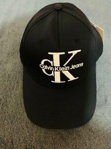Calvin Klein monogram Cap in Black
