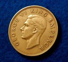 1941 New Zealand Penny - Gorgeous Key Date/Low Mint Coin - See Pictures