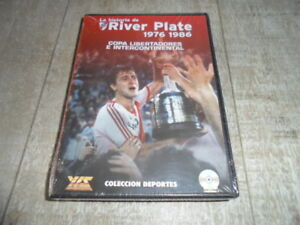 1X RIVER PLATE DVD LIBERTADORES TOYOTA CUP CHAMPION - HISTORY YEARS 76 TO 86