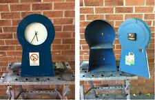 Large Industrial used Office Storage Cabinet with Clock
