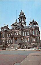 B90/ St Clairsville Ohio Postcard Belmont County Court House Building c1950