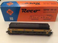 Roco HO 04152B Belgian Railways Diesellok Serie 59 SNCB NMBS 5916 Yellow/Green