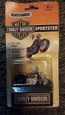 Matchbox Harley Davidson Sportster Purple and Silver.