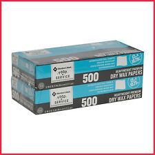 "[No Tax] Member's Mark Wax Paper Sheets 12"" X 10.75"" 2pk. (Total 1000 ct.)"