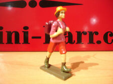 CBG mignot figurine RANDONNEUSE  MARCHE TREKKING randonnee  lead toy soldier