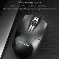 2.4GHz Wireless 1200DPI Cordless Optical Mouse Mice USB Receiver for PC Laptop
