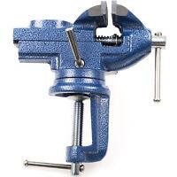 Tisch Schraubstock klein 60 mm Mini Parallel-Schraubstock Modellbau Werkbank