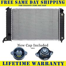 Radiator With Cap For Chevy S10 Gmc Sonoma Isuzu Hombre 2.2 L4 4Cyl 1531WC