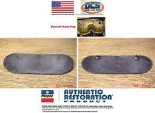 1970 to 1974 Challenger Cuda Muffler Heat Shields 3404595 3404596