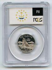 2001 S 25C Silver Rhode Island Quarter PCGS PR70DCAM