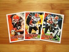 2010 Topps Football Cleveland Browns TEAM SET