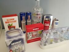 Absolut Vodka Gift Pack Set All Empty