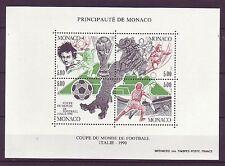 Postfrische Briefmarken aus Monaco mit Fußball-Motiv