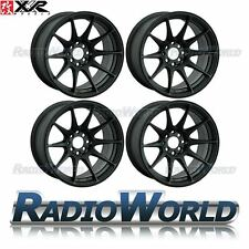 "XXR 527® 18"" x8.75 / ET35 5X114.3 + 5x120 Light Alloy Wheels Rims Flat Black"