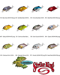 Strike King Crankbait Hybrid Hunter 1oz (HCHH) Pick Any 12 Color Lures
