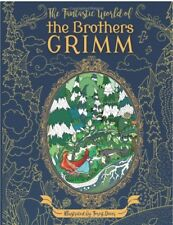 World of the Brothers Grimm Adult Colouring Book Fairy Tales Fantasy Gothic Gift