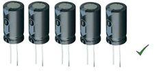 5pz Condensatore Elettrolitico 1000uF 35V Verticale 105° 13x20mm