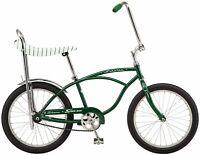 New 2020 Schwinn Stingray Sting Ray banana seat bike green