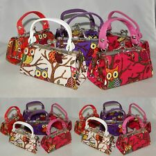 Wholesale Lot of 6 Owl Pattern Mini Purse Lipstick Coin Party Favors Indiana