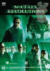 The Matrix 3 Revolutions DVD Region 4 Australia - ACTION SCi-FI  Keanu Reeves