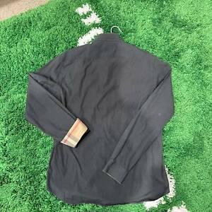 Burberry Brit Dress Henry Long Plaid Sleeve Shirt