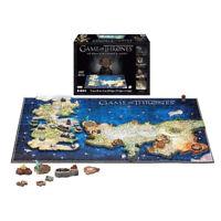 Game of Thrones 4D Puzzle of Westeros & Essos