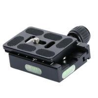 Morsetto 60mm Piastra QR A Sgancio Rapido Per Adattatore Testa A Sfera Treppiede