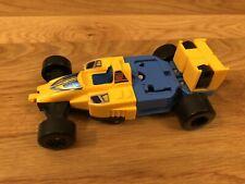 New listing 80's Vintage Transformers 1987 Hasbro Takara Autobot Blue Race Car Vtg Toy