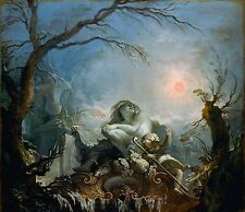 Allegory of Winter by Jacques de la Joue the Younger Old Masters 11x13 Art Print