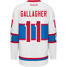 Montreal Canadiens Winter Classic 2016 Gallagher # 11 Reebok Premier Jersey Men
