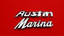 ANTIQUE VINTAGE 1973 Austin Marina GT Rear OEM Emblem Set Badge Symbol 73 74 75