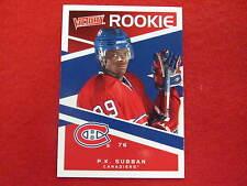 2010 Victory P.K. Subban hockey rookie card   Canadiens  # 228  RC