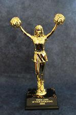 Large Cheerleader Trophy -. Free Engraving!