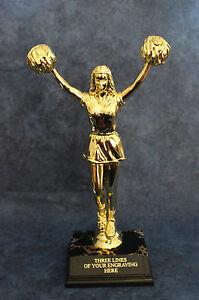 Large Cheerleader Trophy -. FREE ENGRAVING!!!!