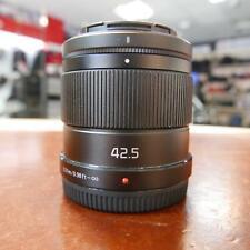 Used Panasonic Lumix G 42.5mm f1.7 ASPH Lens - 1 YEAR GTEE