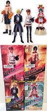 Bandai One Piece Flame of the Revolution 4 Figure Set: Ace, Sabo, Sugar & Koala