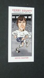 PHILIP NEILL CARD FOOTBALL 2007 CHAMPIONS 1971-1972 DERBY COUNTY RAMS HECTOR
