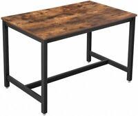 Küchentisch Esstisch Esszimmertisch Industrial Design Metall Holzoptik Vintage