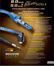EAGLE 9mm IGNITION LEADS - HOLDEN 304 EFI V8 - VN-VT (BLACK LEADS)
