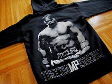 Manny Pacquiao Black Hoody Sweatshirt sz S pacman boxing philippines filipino