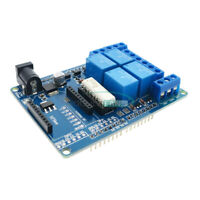 DC 9V 4-Channel Relay Shield 70W Optocoupler Module for Arduino MEGA2560 R3 XBEE