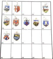 1 Bettelarmband Anhänger Wappen ♥ aus DEUTSCHLAND kostet 5,20€ Charm antik 208C2