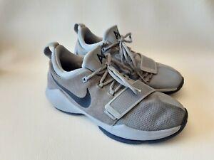 Nike PG 1 GS. Paul George. Size 5Y. Glacier Grey/Armory Blue. 880304-044