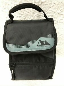 ARCTIC ZONE Black Lunch Carrier with Lunch Container (pre-owned)